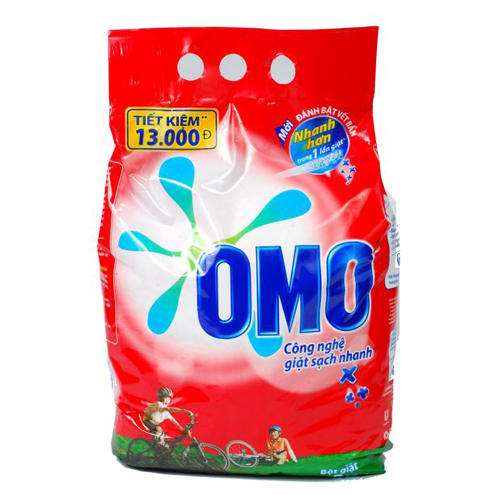 Bột giặt Omo đỏ 400g