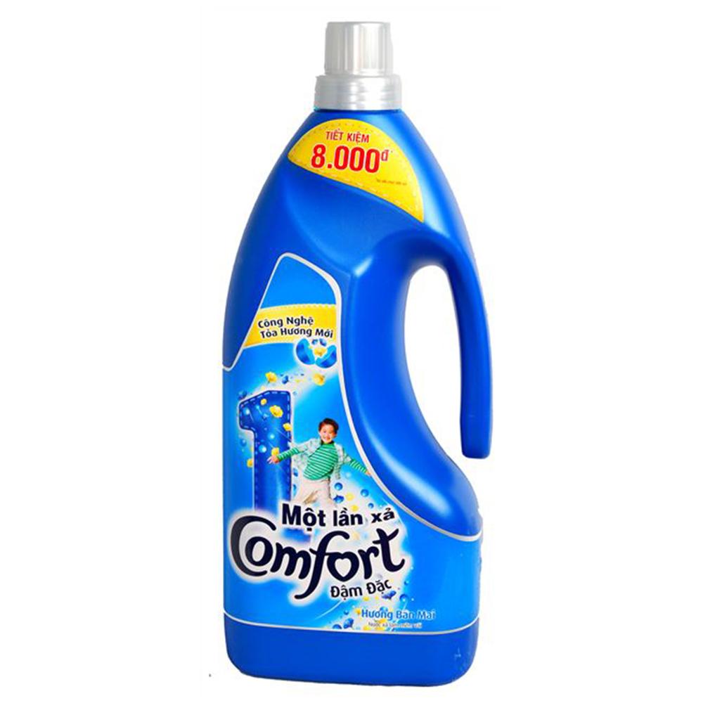 Nước xả comfort 1 lần xả hương ban mai 1.8l