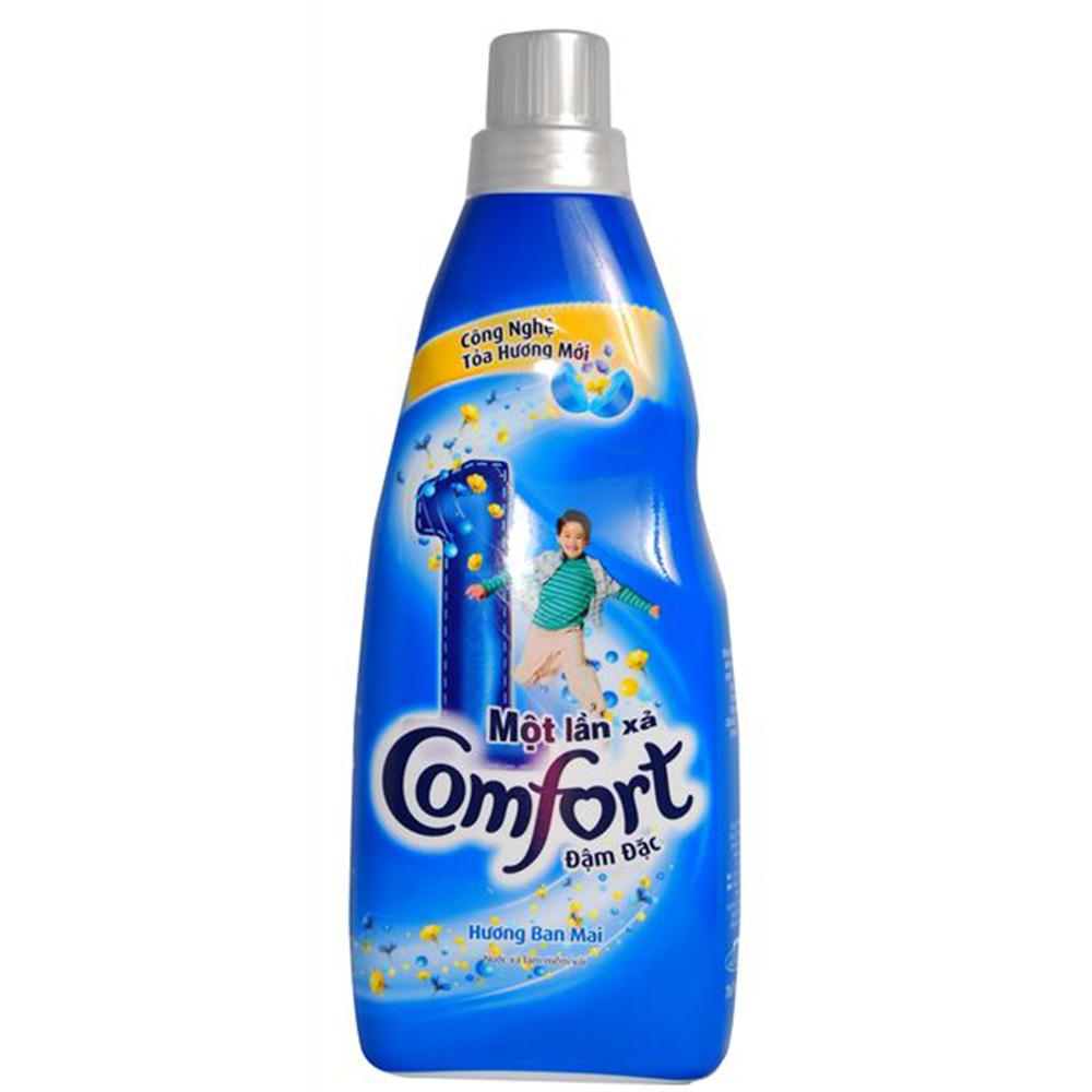 Nước xả comfort 1 lần xả hương ban mai 800ml