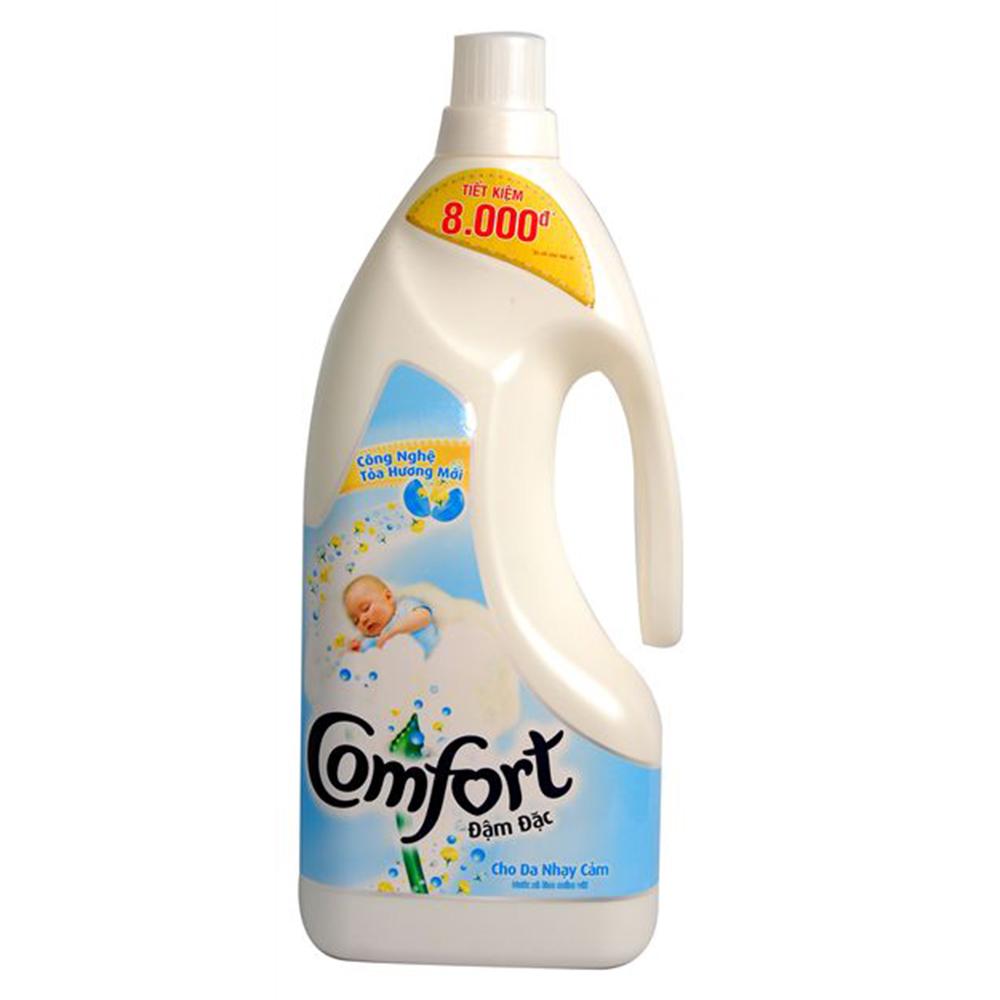 Nước xả Comfort đậm đặc dành cho da nhạy cảm 1.8l