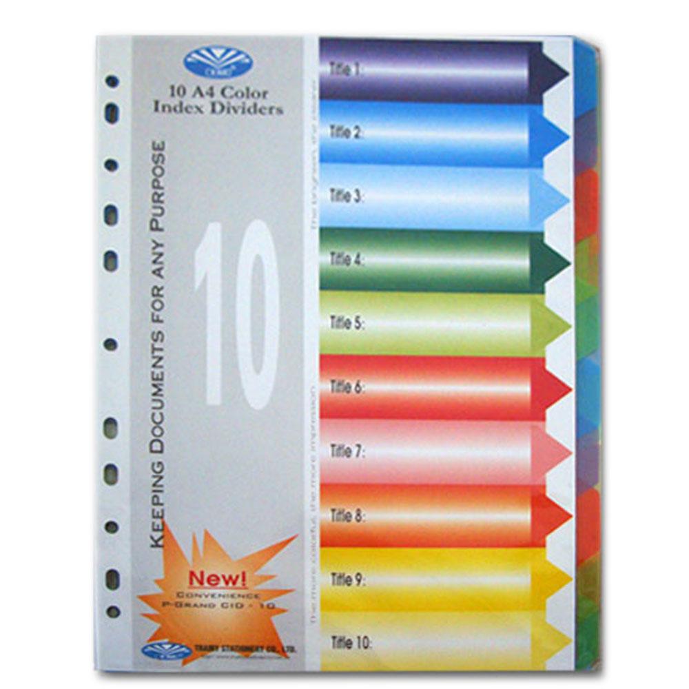 Phân trang nhựa 10 số