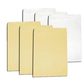 Bao thư trắng vàng A4