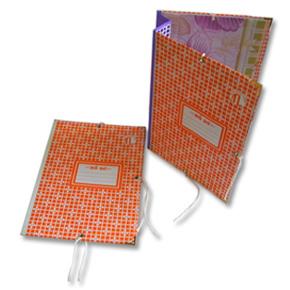 Bìa 3 dây giấy 10cm